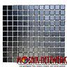 Mosaik uni schwarz anti rutsch R10B Fliesenspiegel Art: 18-0311-R10 | 10 Matten