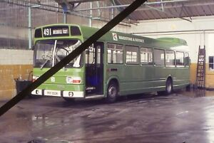 Original Bus Slide; MAIDSTONE & DISTRICT - PKP 553R