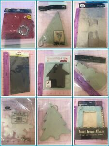 Various Chipboard Albums...NEW...Various Szs...Bo Bunny, Colorbox, more!