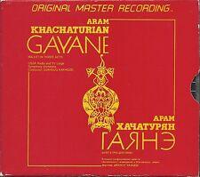 Khachaturian, Aram Gayane A Ballet In Three Acts MFSL Silver (Alu) DoCD OOP