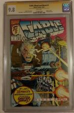 Cable - Blood and Metal #1 CGC 9.8 SS 2x Louise Simonson, chris Eliopoulos
