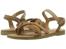 Toms Youth Lexie Sandals, Toffee Suede Fringe Size 13