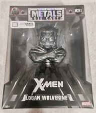 Metals Die Cast X-men Logan Wolverine Lootcrate M241 Marvel