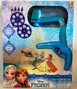 Disney Frozen Project and Colour Tracing Projector