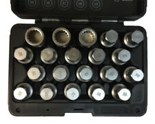 Porsche & VW Touareg Wheel Lock Screw Socket Kit (20 PCS) T10190
