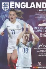 * 2018 - ENGLAND v WALES (WOMEN'S WORLD CUP QUALIFIER - 6th April 2018) *