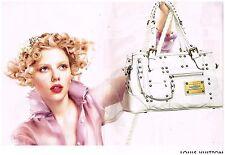 Publicité Advertising 2007 (2 pages) Maroquinerie Sac à main Louis Vuitton