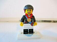 Lego Team GB 2012 Olympic Minifigure - Horse Rider Lego figure - White GB Base