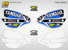 Stickers Decals for Cycra Probend Handguards YAMAHA YZ YZF WR 125 250 450 Blue