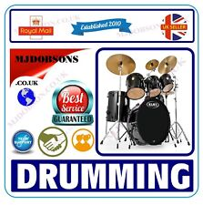 Drums Instructional Tutorial DVD For Beginners Free 1st Class Postage