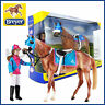 NEW BREYER LET'S GO RIDING MODEL HORSE & RIDER SET 1:9 SCALE TRADITIONAL SERIES