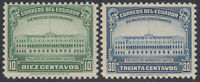 Ecuador 435/36 1945 Palace Government Quito, MNH