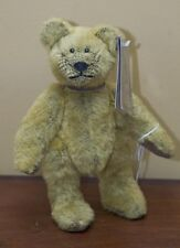 """Russ Judy Senk Bear with Tag """"Rugby"""" 10 inches"""