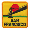 Ecusson patche San Francisco Frisco USA patch voyage patch brodé thermocollant