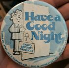Vintage SASCO Security Products - Sunbeam Appliances Chicago ILL  Pinback photo