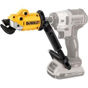 DeWALT DWASHRIR 18-Gauge 1/4-Inch Hex Shank Metal Shear Drill Attachment