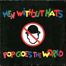 MEN WITHOUT HATS - POP GOES THE WORLD - CARDBOARD SLEEVE CD MAXI