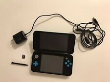 Nintendo 2DS XL Black/Turquoise Handheld System (TESTED) FREE SHIPPING