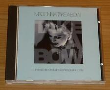 MADONNA Take A Bow UK LIMITED 3 TRACK CD SINGLE incl. 3 Prints W0278CDX MINT!!