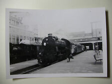 DEN241 - c1960s DANISH STATE RAILWAY - STEAM TRAIN No600 PHOTO Denmark