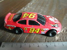 STOCK CAR RALLYE / MC DO HOT WHELLS VEHICULE /CAR MINIATURE # 374