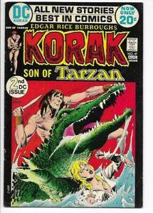 1972 DC Korak Son of Tarzan #47 VF+ 8.5