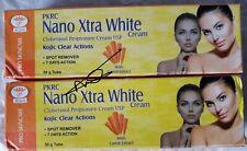 2x Nano extra white cream natural papaya & carrot + Glutathione💯