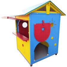casetta chiosco in legno da gioco per bimbi realizzata in Italia cm 103x108x155h
