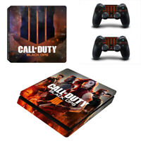 For PS4 slim Console skins Controller decal Call of Duty Skin Sticker #11