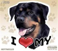 Funny ROTTWEILER Dog Taxi Sevice vinyl car decal sticker Pet Animal Lover