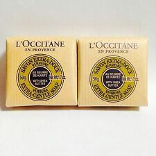 2 X L'Occitane Shea Butter Extra Gentle Soap - Verbena - 1.7oz/50g each