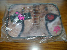 NIP BEBE STORE B2 WILD ANIMAL COSMETIC BAG WITH ZIPPER