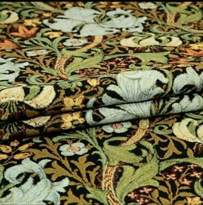 Bedspread Bed Cover Couch Cover Tapestry Lilies Morris 66 7/8x82 11/16in