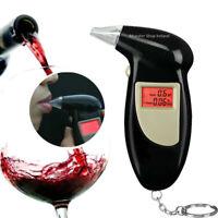 Professional Police Digital Breath Alcohol Analyzer LCD Breathalyzer Detector