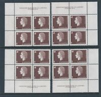 Canada #401 PL BL #2 Queen Elizabeth II Matched Set PL BL MNH *Free Shipping*