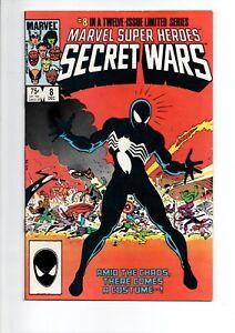 Marvel Super Heroes SECRET WARS #8 comic from 1984...SPIDER-MAN....ONLY $19.95!