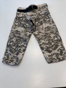 Game Worn Used Army Black Knights Football Pants. Camo Size S by Nike