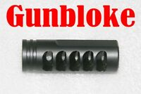 MUZZLE BRAKE REVERSE VENTING THE DOMINATOR 1/2x28  - Bored to suit