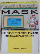 Eduard 1/72 CX031 Canopy Mask for the Hasegawa F-14 Tomcat kit
