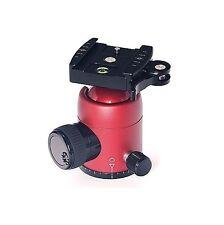 Markins Q-Ball Q3 Traveler Head with Lever Quickshoe (Red)