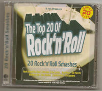 """THE TOP 20 OF ROCK 'N' ROLL, CD """"VARIOUS ARTISTS"""" NEW"""