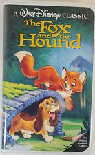 Walt Disney's The Fox and the Hound Black Diamond Rare VHS ISBN: 1-55890-135-3