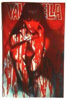 "Vampirella (2019) #6  Artgerm ""Blood Splattered"" Acetate Cover A Dynamite"
