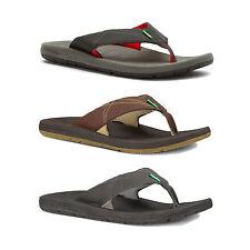Sanuk Latitude Men's Padded Flip Flop / Sandal RRP £39.99