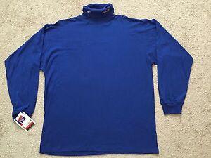 Reebok NFL Rams Men's Shirt Football Long Sleeve SZ XL Blue NWT! New