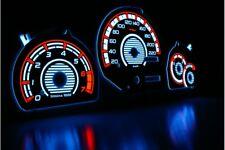 Ford Escort MK7 design 1 glow gauge plasma dials tachoscheibe glow shift indicat