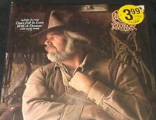 KENNY ROGERS Gideon LP ORIGINAL 1980 STILL SEALED with Poster Hype Sticker !!