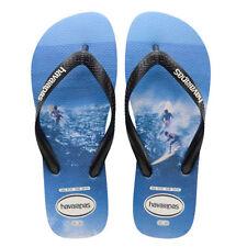 Sandali e scarpe blu Havaianas per il mare da uomo