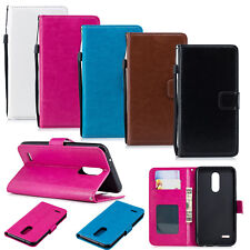 Luxury Leather Flip Case Wallet Cover For Samsung Galaxy Note 9 Xiaomi Huawei