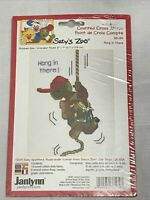 Hang In There Suzy's Zoo Counted Cross Stitch Kit #38-189 2001 Janlynn Sealed